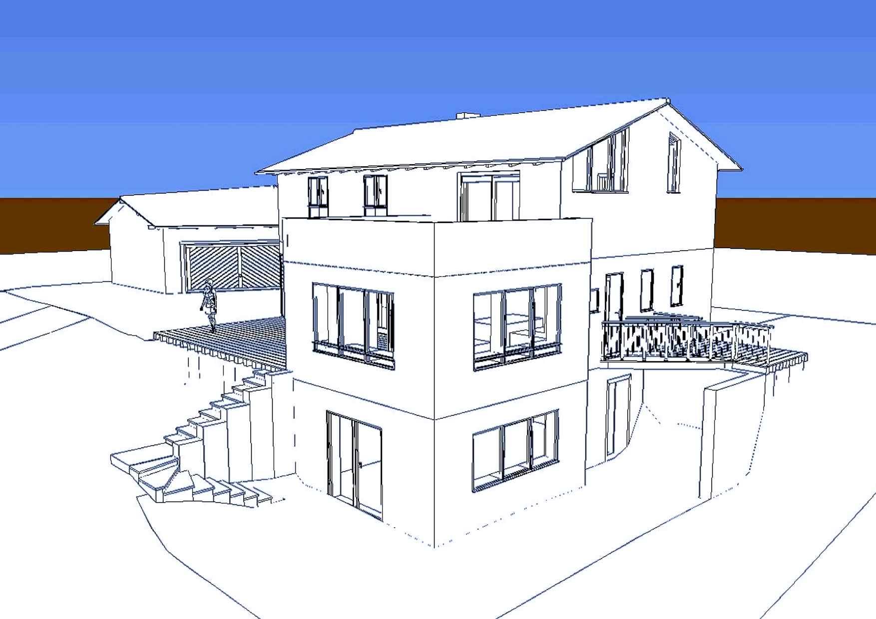 EFH 3D-Model